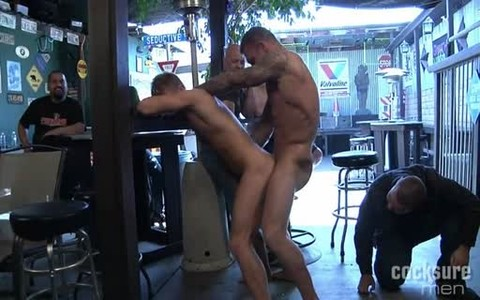 Daddy pounds His Son In Public