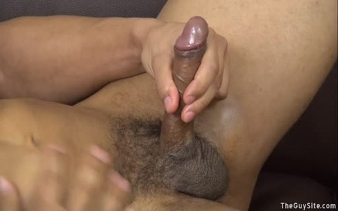 Muscle Ricky Flexes And Strokes