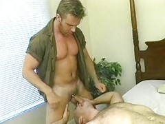 Drew Larson Rides his loverguy\'s Face To agonorgasmos