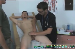 Doctor homo Sex suck cock School boy And nude men clip In
