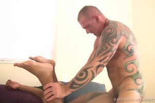 black boy receives drilled In The Bedroom By A White boy
