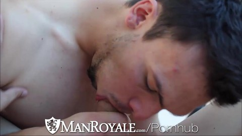 ManRoyale attractive men acquire Home To acquire In Action