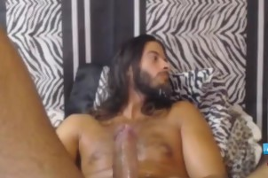 I Love Playing With My stunning bushy hole And Masturbate