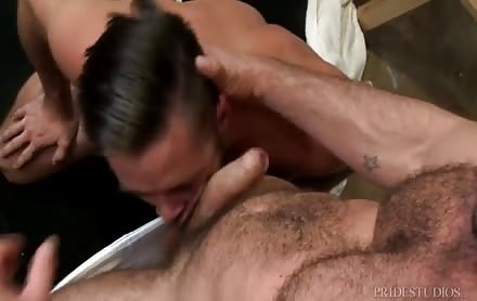 Servicing His Manhood Well