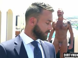 Muscle homosexuals butthole sex And cumshot