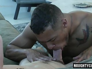large ramrod Bottom Interracial With ball batter flow