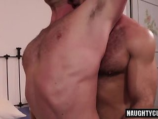 hairy gays Flip Flop And sperm flow