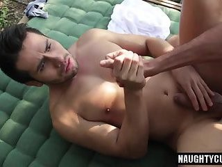 Latin homo anal job And spunk flow