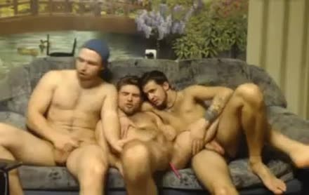 three Randy Russian Straight Individuals Go homosexual For The First Time On web camera