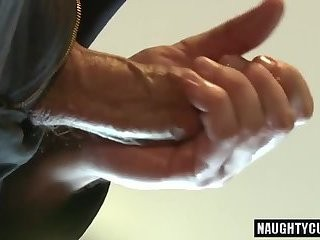 large dick boy 3some With Facial