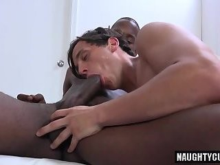 humongous cock wang Interracial And Facial spooge