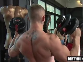 Muscle twink ass And Facial