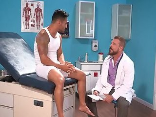 monstrous penis Doctor And tiny pooper Patient