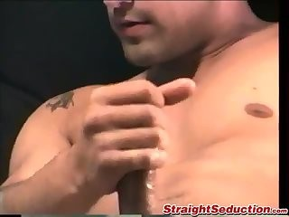 Zack Unzips His Pants And Starts To Massage His wang