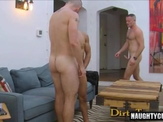 Latin homosexual 3some With cumshot