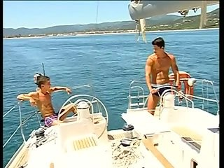 kinky twinks fucking On The Yacht
