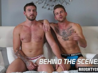 Tattoo gay wazoo dril With Creampie