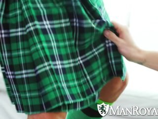 ManRoyale - Nate Grimes gets His lucky Charm banged For St Patricks Day