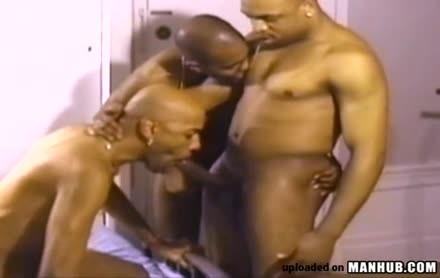 A bunch Of African Greek Gods receive Down And indecent A hardcore pooper Rump bunch fuckfest With Their BBC
