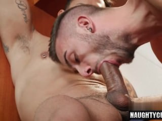 enormous knob homo anal sex And Creampie