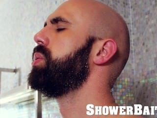 ShowerBait - Ben Tyler plows Lex Ryan In The Shower