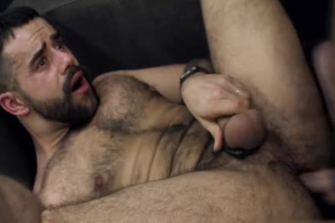 bushy gay butthole job And cumshot