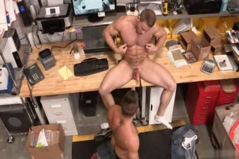 Muscle Bear butthole butthole slamming With sex cream flow