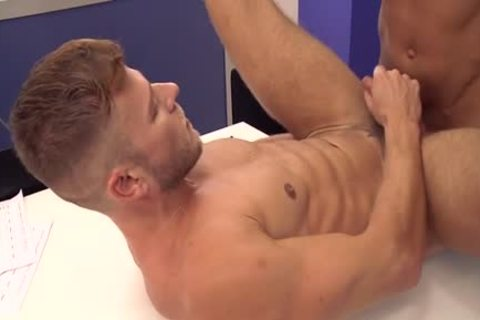 Muscle homosexual anal job With cumshot