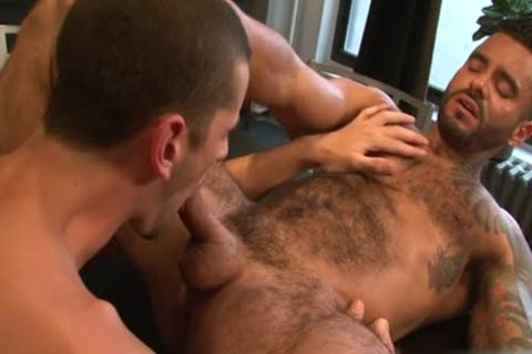 monstrous 10-Pounder gay butthole sex And cumshot