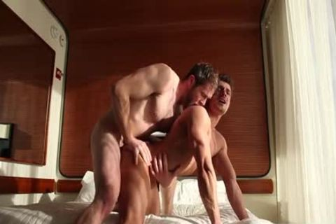 Muscle gay ass sex And cumshot