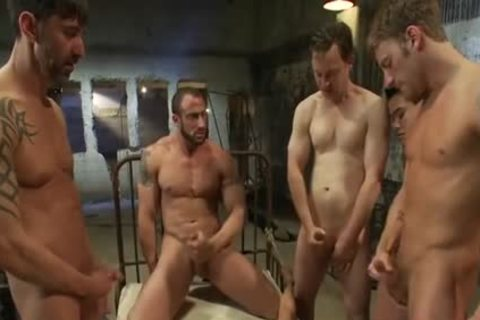 lascivious Stepfather rough doggy style gangbang
