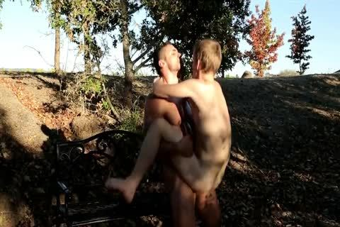 Hunk And twink Expect For Humungous Climax In The Process Of