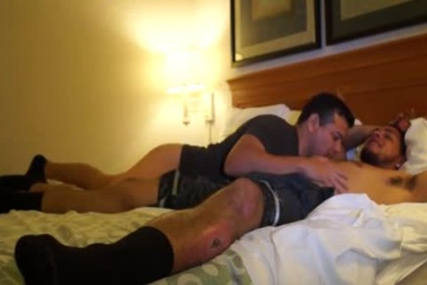 beautiful Puerto Rican Straight guy bonks homo booty For