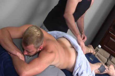 7a bushy Muscle Massage With ass put in