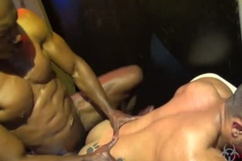Brazil homosexual Fetish With cream flow