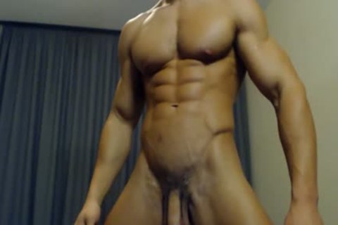 11-13 1 naughty lad Flexing His Body And ramrod