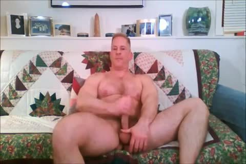 sexy Solo Blond Muscle chap