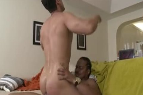 excited Stepfather love juice On Body