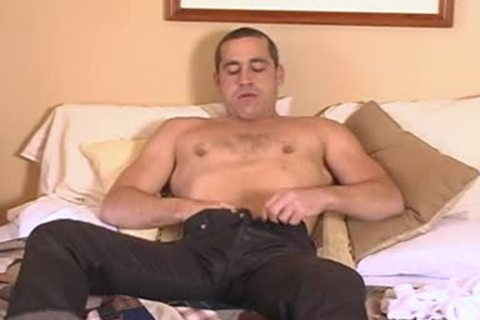 Johnny D Tugging pecker