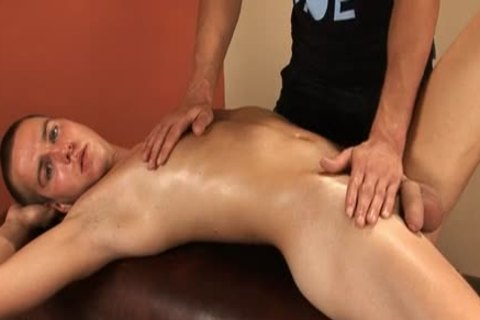 guy gets handjob During Massage