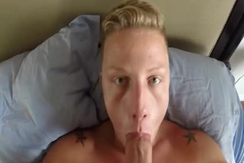 This lad likes sucking ramrod In sofa And fucking