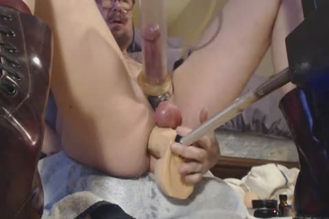 From Kong To Jeff Stryker, Ken Ryker And lastly The HUNG From Doc Johnson. Lot's Of pecker Pumping (you Can see The cum Being nailed Out Of My pecker