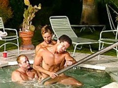 Watch This pretty homosexual orgy By The Pool
