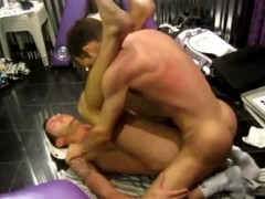 amateur Straight sucked Off By homosexual
