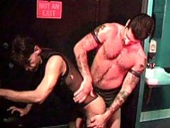 Matt Hale bends Over To suck Some cock