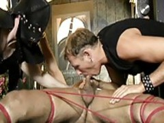 naughty bondage only this manats Up This gay group sex