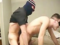 Masked fellow bangs fellows ass - twink sex video - Tube8.com