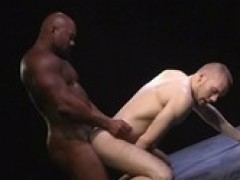 Remy Delaine plowed by Muscled-Up dark guy