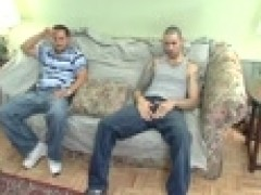 horny Straight Latin men Stroking