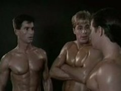 threesome with Jeff Stryker